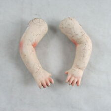 "Antique Composition 4"" Doll Arms Bend Elbow Parts Repair Replacements"