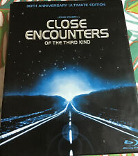 Close Encounters of the Third Kind Blu-ray Disc 30th Anniversary Edition W/Book.