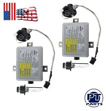 2 Set For Acura TL TL-S TSX XENON HID HEADLIGHT BALLAST & IGNITER & BULB