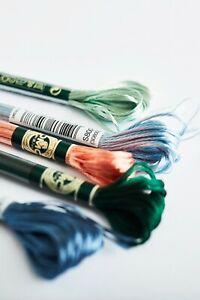 DMC Satin Cross Stitch Threads S211-S5200 100% Rayon 8m Skeins