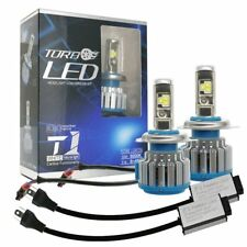 2x Canbus H4 9003 HB2 LED Headlight Kit Hi/Lo Beam Bulbs 80W 6000K 8000LM Light