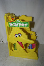Vtg 1980s On My Way With Sesame Street Book Holder Display Rack only