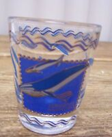 Aquarium of the Pacific California Shot Glass Bar Barware Whale Dolphin