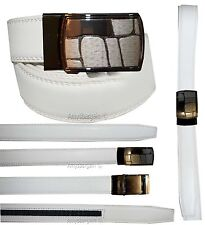 "Men's belt. Genuine Leather Dress & Casual Belt. New self lock Buckle up to 43""."