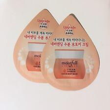 2x Etude House MOISTFULL COLLAGEN CREAM Travel Size Samples -NEW - Made In Korea