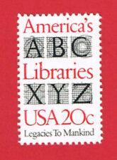 2015 Libraries of America 1982 MNH WAG   Single   1x20c