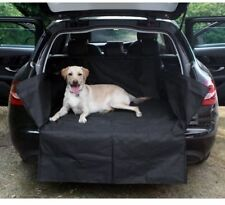 Quality Heavy Duty Water Resistant Car Boot Liner Mat & Bumper Protector - Black