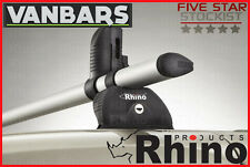 Fiat Doblo 2010 Onwards 2 Bar Rhino KammBar™ Roof Rack Bar System WD2K-K22