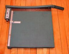 "Large Premier 16"" Paper Cutter Board Trimmer Photo Materials Co. great condition"