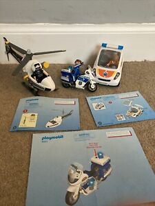 Playmobil Emergency Services Vehicles 5916 - 5543 - 6923