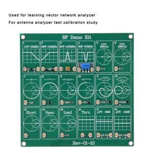 HF RF Demo Kit für NanoVNA RF Test Board Modul Frequenz Filter/Attenuator GOOD
