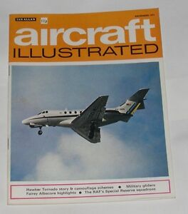 AIRCRAFT ILLUSTRATED DECEMBER 1971 - THE HAWKER TORNADO/MILITARY GLIDERS