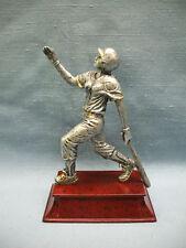female Softball statue trophy resin 55606Gs