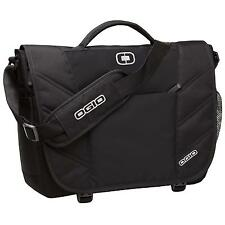 New OGIO Travel Luggage Upton Briefcase Work Messenger Carry Case Bag Black