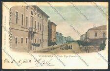 Lucca Viareggio PIEGATA cartolina E2566 SZL