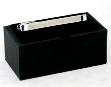 52108 GEELONG CATS AFL TEAM MENS DRESS TIE CLIP /  TIE BAR GIFT BOXED