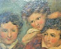 Antique Portrait Oil Painting - Circle of Benjamin Robert Haydon (1786-1846)