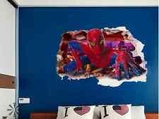 Large Wall Sticker Home Decor Removable Children Kids Decal Nursery Spider Man