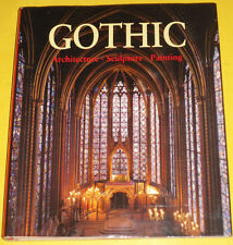Gothic – Art & Architecture 1998 First ED HUGE Book Great Pictures! Nice See!