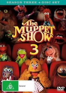 THE MUPPET SHOW (COMPLETE SEASON 3 - DVD SET SEALED + FREE POST)