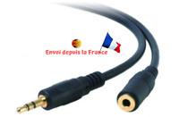 3.5mm Jack Mâle vers Femelle Câble 3m Audio Stéréo Headset Extension Rallonge