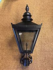 Large Victorian Style Black Lantern (for brackets or posts) Lamp Post Lamp Top