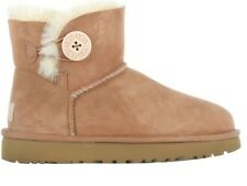 Damen Boots UGG W Mini Bailey Button II Chestnut 1016422-CHE e4606aa08b