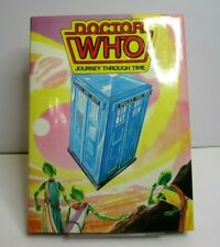 Vintage Dr Doctor Who Journey Through Time Children's Science Fiction Book 1985