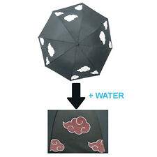 Naruto Anime Akatsuki Cloud Black Colour Changing Umbrella