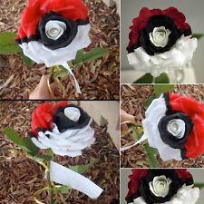 Pokemon Designed Black Pearl Rose Seeds Flower Pot Professional Plant Attractive