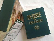 La Bible De Jérusalem. La Sainte Bible -Ecole Biblique De Jérusalem (Traduction)