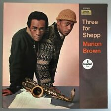 Marion Brown – Three For Shepp Vinyl LP France 1967 Good copy (water damage)