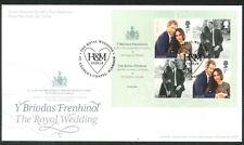 2018 FDC - Royal Wedding  St Georges Chapel Windsor H & M  Postmark  post free