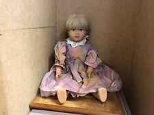Sigikid Puppe Vinyl Puppe 48 cm. Top Zustand