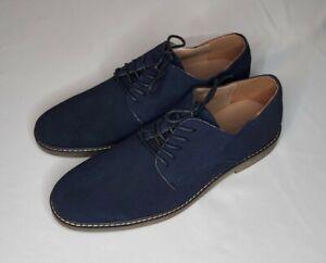 Banana Republic Blue Suede Shoes Men's 9.5