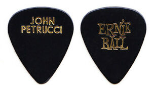 Dream Theater John Petrucci Signature Black Guitar Pick - 2004 Train Tour
