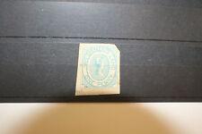 VAN DIEMEN'S LAND 1853 1d. BLUE COURIERS SG 2 unused with huge margins. Colbeck
