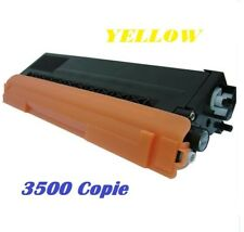 CARTUCCIA PER BROTHER HL4140 HL4150 HL4500 TONER TN325 YELLOW 3500 COPIE
