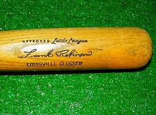 "Frank Robinson 27"" Baseball Bat Hillerich & Bradsby Reds Orioles Mint Condition"