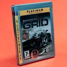 RACE DRIVER GRID PS3 PLATINUM racedriver completo in italiano USATO