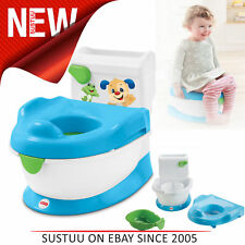 Fisher-Price Laugh and Learn with Puppy Baby Potty/Toilet Trainer│Easy-to-Clean