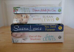 4 Paperback Susan Lewis Books