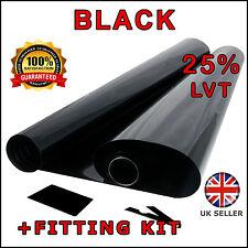 MEDIUM BLACK 20% 6M x75CM ( 2 x ROLL 3M x 75CM ) CAR WINDOW TINT FILM TINTING