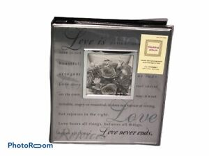 Wedding Album Holds 160 Photographs 4 x 6 Format Acid and Lignin Free