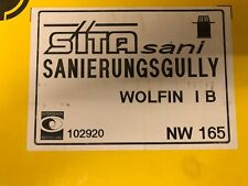 Sita Gully Sita Sanierungsgullys NW165 Flachdach Gully