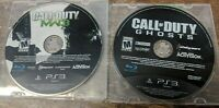 Call of Duty: Modern Warfare III Three + COD GHOSTS for PLAYSTATION 3 PS3 MW3