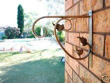 Iron Bird and Vine Garden Flower Pot Lamp Hook Hanger Strong Version 002