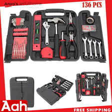 136-Pcs Tool Set - Mechanics Kit...