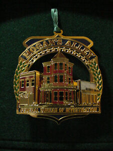 FBI Collectible Christmas Holiday Ornament – 2004 -Hogan's Alley