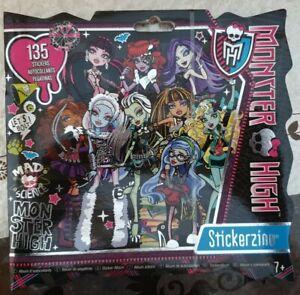 Monster High Stickerzine